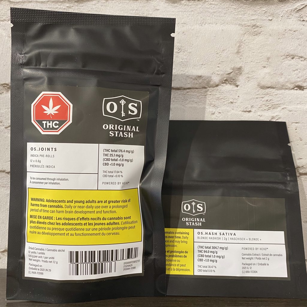 Original Stash - Os.Joints + Os.Hash Sativa