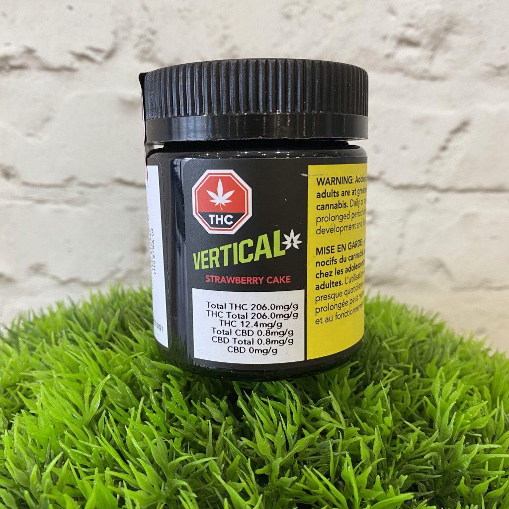Vertical Cannabis - Strawberry Cake 3.5g